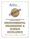 Environmental Engineering and Science Excellence Plaque