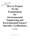 How to Prepare for the Examinations for the BCEE and BCES Specialty Certifications - Digital