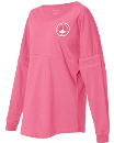 2020 Theme Long Sleeve jersey - Coral - XX Large This is a loose shirt and does run big.