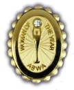 Woman of the Year Jeweled Pin