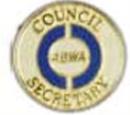 Council Secretary Pin