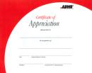 Certificate of Appreciation (10 per package)