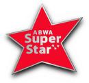 ABWA Super Star pin