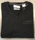 V-Neck Sweater, cotton/cashmere Large
