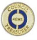 Council Treasurer Pin