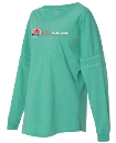 2020 Theme Long Sleeve jersey - Teal - Small This is a loose shirt and does run big.