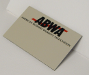 Name Badge - Magnetic - Please allow 3 weeks. e-mail list to jmiller@abwa.org