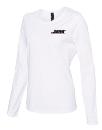 Women's Long Sleeve Scoop Neck t-shirt - Medium