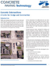 Concrete Intersections - A Guide for Design and Construction (TB019|PDF)