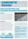 Diamond Grinding and Concrete Pavement Restoration (TB008|PDF)