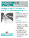 Design and Construction of Joints for Concrete Highways (TB010|PDF)