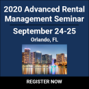 2020 Advanced Rental Management Seminar
