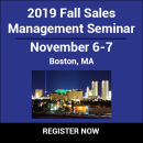 2019 Fall Sales Management Seminar