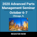 2020 Advanced Parts Management Seminar