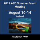 2019 AED Summer Board Retreat