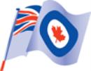 "14204 - RCAF Association Ensign Nylon 36""x18"""