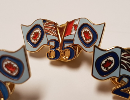 Ensign Years-of Service Lapel Pin
