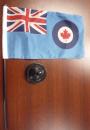 14104 - RCAF Association desk Ensign