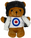 99930 RCAF Aviator Bear in Aircrew Uniform