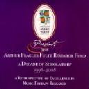 Arthur Flagler Fultz Research Fund - A Decade of Scholarship