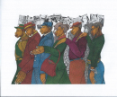 Marching in the Spirit by Charles Bibbs, a fine art Giclee