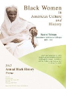 "2012 Poster Black Women in American Culture and History ""Harriet Tubman"""