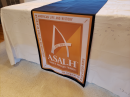 ASALH Logo Table Runner