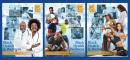 2022 Poster Set of all 3 Black Health & Wellness