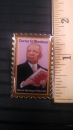 Carter G. Woodson Stamp Lapel Pin
