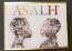 ASALH Two Profiles Lapel Pin