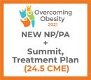 Overcoming Obesity 2021 Virtual- NP/PA - Treatment Plan + Summit + NEW Membership Oct 14-16,22-23
