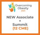 Overcoming Obesity 2021 Virtual - Associate- Fall Obesity Summit + NEW Membership (12 CME) Oct 14-16