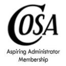 COSA Aspiring Administrator Member Dues
