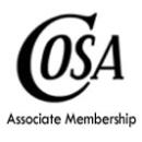 COSA Associate Member Dues