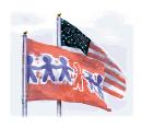 Children's Memorial Flag - 5' x 8'