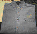Port Authority® Long Sleeve Denim Shirt - Small