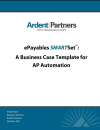 Business Case Template for AP Automation (Ardent Partners)