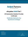 AP Automation Solution Provider Landscape (Ardent Partners)