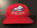 Red Baseball Cap with Embroidered KTA Logo