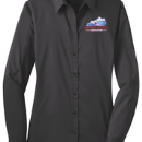 Women's Long Sleeve Shirt - Grey Smoke - KTA Embroidered Logo_L646