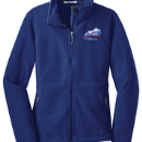 Women's Full-Zip Polar Fleece - True Royal - Embroidered KTA Logo - L217