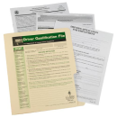 Driver Qualification File Packet - 1242