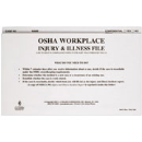 Workplace Injury & Illness File Folder (OSHA) -  7365