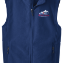 Men's Fleece Vest - True Royal - Embroidered KTA Logo - F219