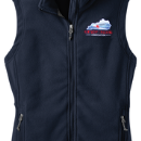Woman's Fleece Vest - True Navy - Embroidered KTA Logo - L219