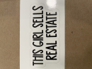This Girl Sells Real Estate sticker
