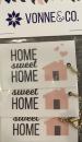 Key tag Home Sweet Home