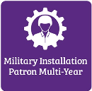 Military Installation Patron Multi-Year Membership