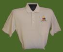 Golf Shirt w/Pocket - Khaki - XL