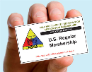 U.S.A. Membership 2nd Class Postage 3-Years